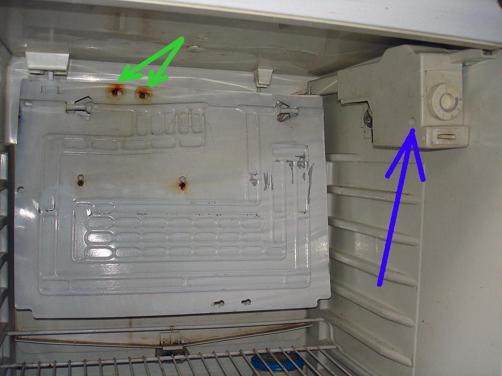 Замена термостата на холодильнике своими руками